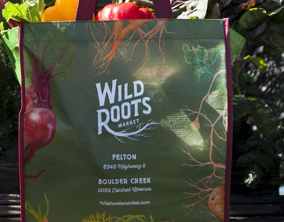 Reusable shopping bag Wild Roots Market