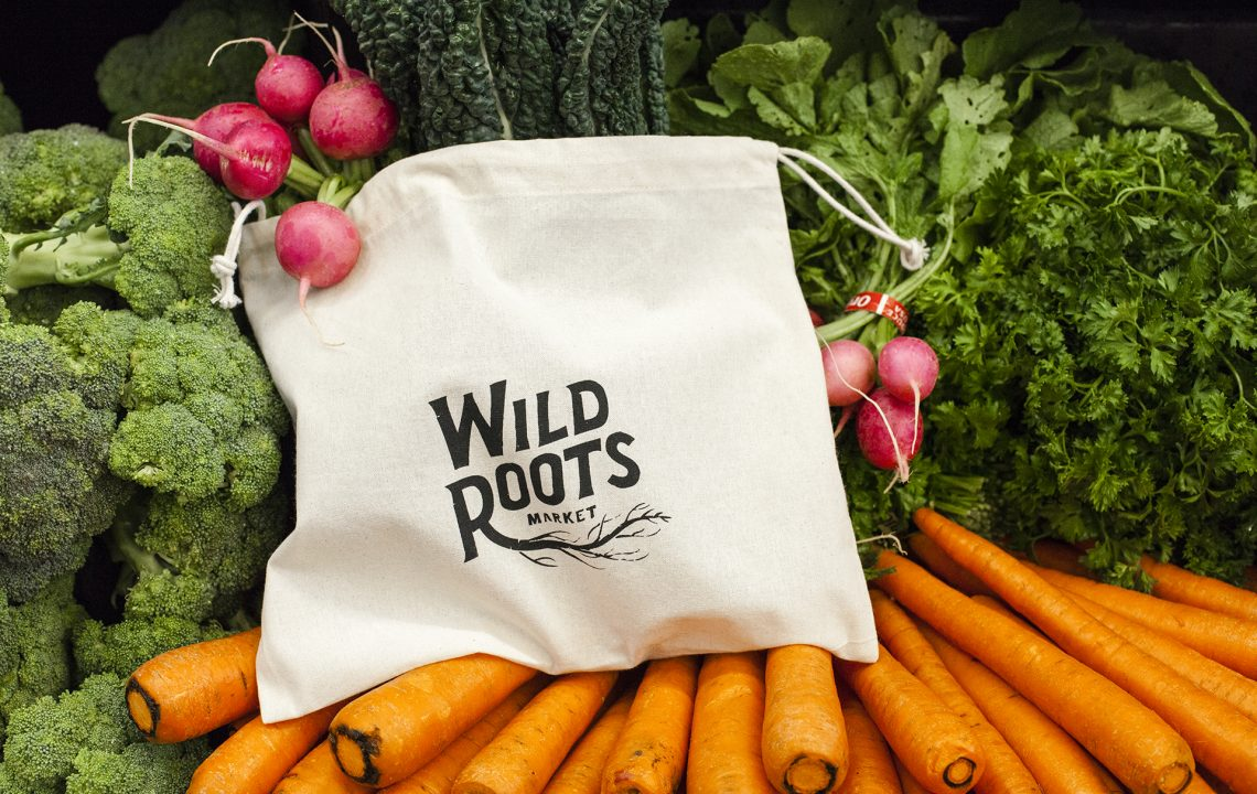 Wild Roots Produce Bag and Produce
